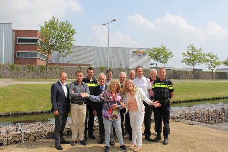 Businesspark Nieuw-Vennep Zuid binnen half jaar Keurmerk Veilig Ondernemen