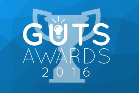Eerste inschrijving The Guts Award binnen