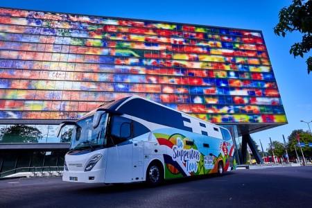 Pieter Smit verzorgt Nightliner tijdens de Olympische Spelen in Rio