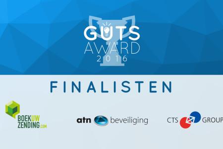 De drie finalisten voor The Guts Award bekend