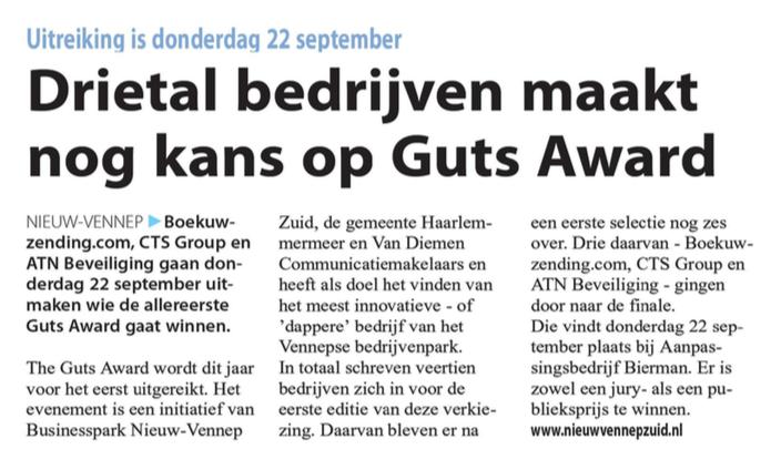 Businesspark Nieuw-Vennep Zuid in het Witte Weekblad 21-09-16