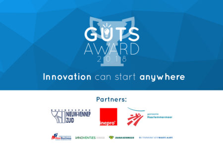 Save the date: The Guts Award 2018