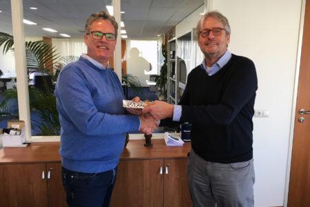 Ruud Koek neemt afscheid als bestuurslid van Businesspark Nieuw-Vennep Zuid