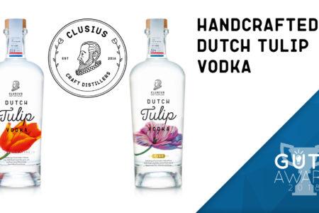 Nieuwe deelnemer: Clusius Dutch Tulip Vodka