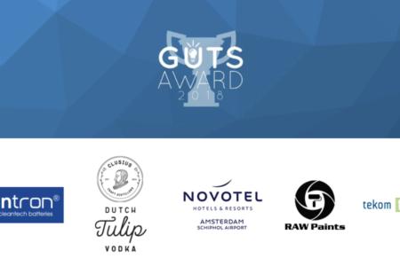 Dit zijn ze… de 5 finalisten van The Guts Award 2018!