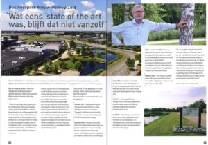 Interview Thomas Hendriksen in Ondernemen in Haarlemmermeer