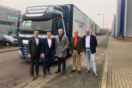 Inspirerend flitsbezoek burgemeester Onno Hoes aan Businesspark Nieuw-Vennep Zuid