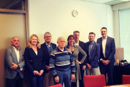 Warme kennismaking voor wethouder Marja Ruigrok met Businesspark Nieuw-Vennep Zuid en ondernemers