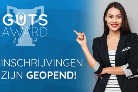 Nominaties The Guts Award 2019 gestart!