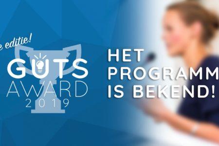 Het programma van the Guts Award 2019!