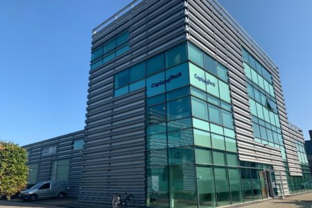 CaptureTech is verhuisd binnen het businesspark naar een grotere locatie